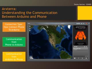 Arxterra : Understanding the Communication  Between Arduino and Phone