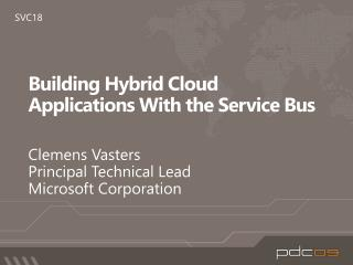 Building Hybrid Cloud Applications With the Service Bus