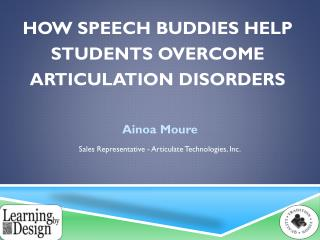 How Speech Buddies Help Students Overcome Articulation Disorders