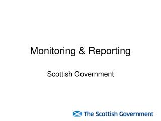 Monitoring & Reporting