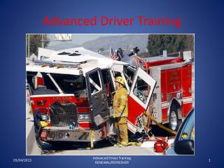 Advanced Driver Training