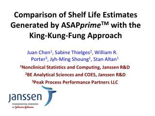 Juan  Chen 1 , Sabine Thielges 2 , William  R. Porter 3 , Jyh-Ming Shoung 1 , Stan  Altan 1