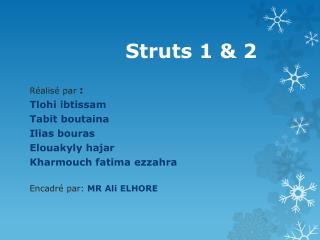 Struts 1 & 2