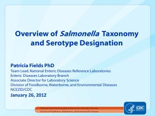 Division of Foodborne, Waterborne, and Enviromental Diseases