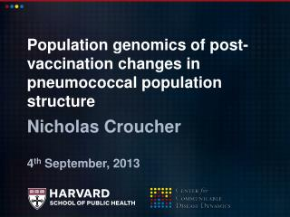 Population genomics of post-vaccination changes in pneumococcal population structure