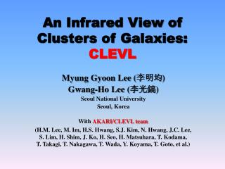 An Infrared View of Clusters of Galaxies:  CLEVL