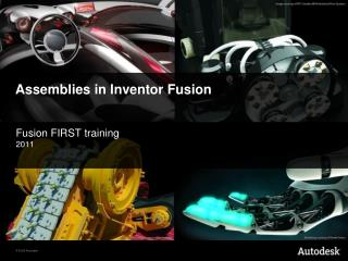 Assemblies in  Inventor Fusion