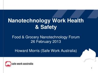 Nanotechnology Work Health & Safety Program