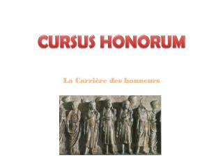 CURSUS HONORUM