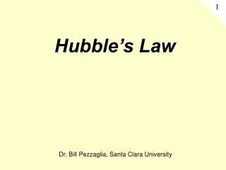 Hubble s Law