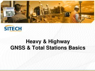Heavy & Highway GNSS & Total Stations Basics