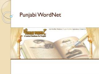 Punjabi  WordNet