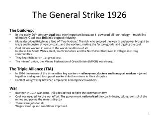 The General Strike 1926