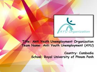 A. Identities of Unemployed Youth