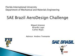 SAE Brazil  AeroDesign  Challenge