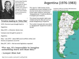 Argentina (1976-1983)