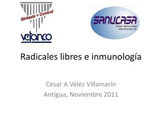 Radicales libres e inmunología