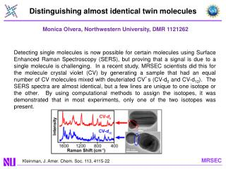 Distinguishing almost identical twin molecules