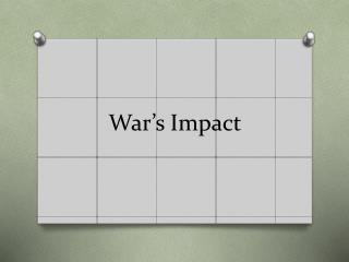 War's Impact