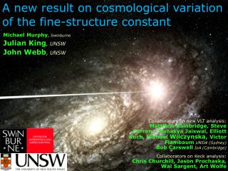 A new result on  cosmological variation of the fine-structure constant