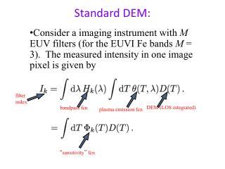 Standard DEM:
