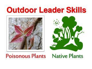 Outdoor Leader Skills