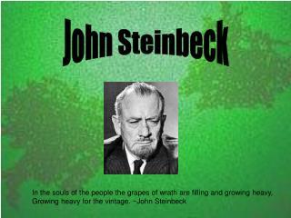 Steinbeck Presentation