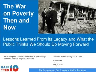 The War on Poverty Then and Now