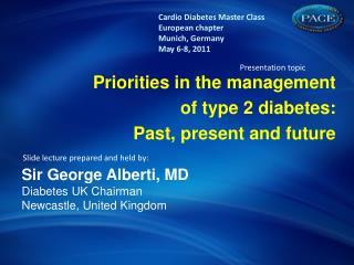 The concept of Diabetes & CV risk: A lifetime risk challenge