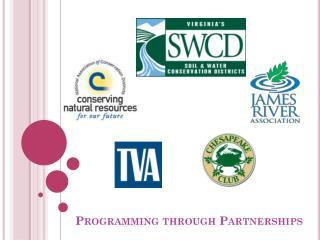 Programming through Partnerships