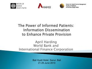 The Power of Informed Patients:  Information Dissemination  to Enhance Private Provision