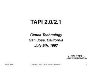 TAPI 2.0