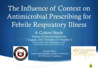The Influence of Context on Antimicrobial Prescribing for Febrile Respiratory Illness