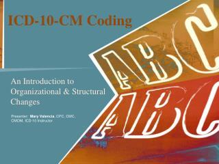 ICD-10-CM Coding