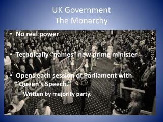 UK Government The Monarchy