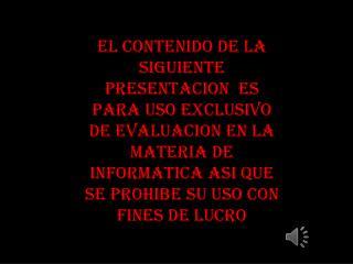 CENTRO DE ESTUDIOS DE BACHILLERATO ''LIC. JESUS REYES HEROLES'' CEB-6/13 SOFTWARE EDUCATIVO