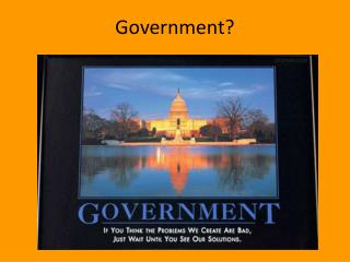 Government?