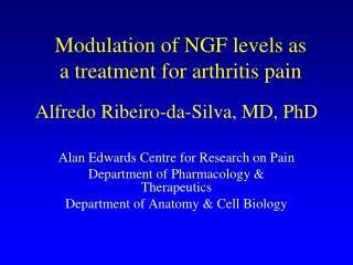 Alfredo  Ribeiro-da-Silva, MD, PhD