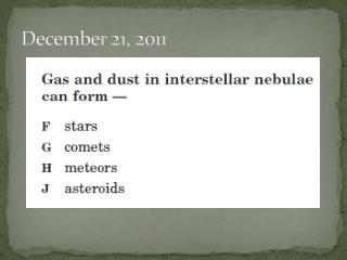 December 21, 2011