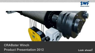 CRABster  Winch Product Presentation  2012