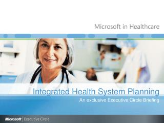 Integrated Health System Planning