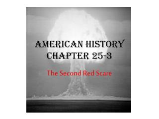 American History Chapter 25-3