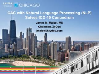 CAC with Natural Language Processing (NLP) Solves ICD-10 Conundrum