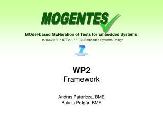 WP2 Framework