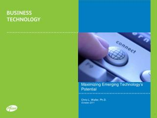 Maximizing Emerging Technology's Potential