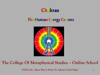 Chakras   The Human Energy Centers