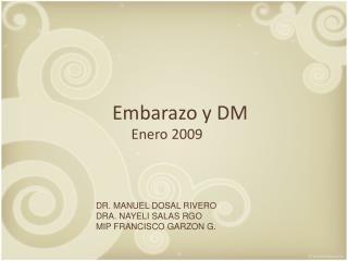 Embarazo  y DM