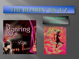 The Roarin' 20s A-Z
