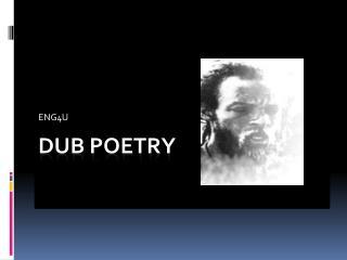Dub Poetry