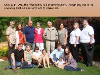 The Hood Family Reunion